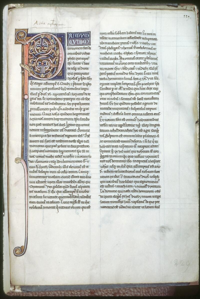 Tours, Bibl. mun., ms. 0042, f. 229