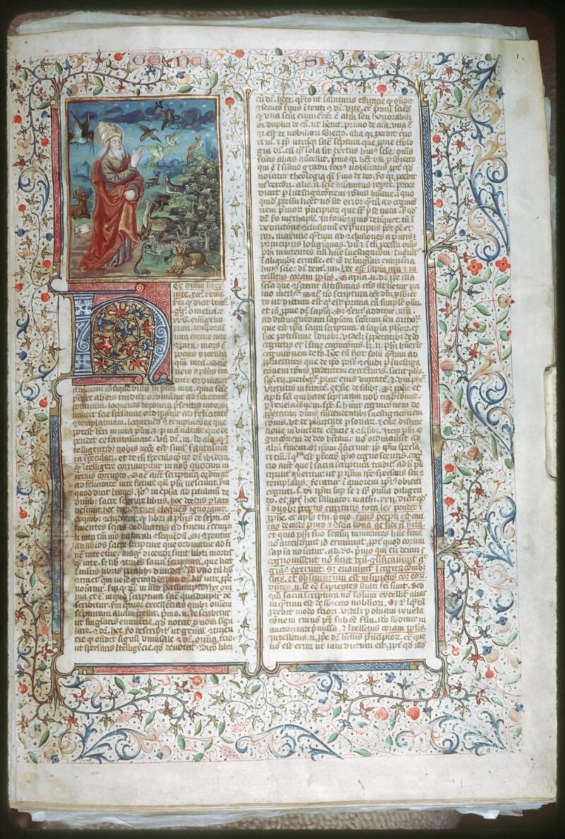 Tours, Bibl. mun., ms. 0052, f. 001 - vue 1