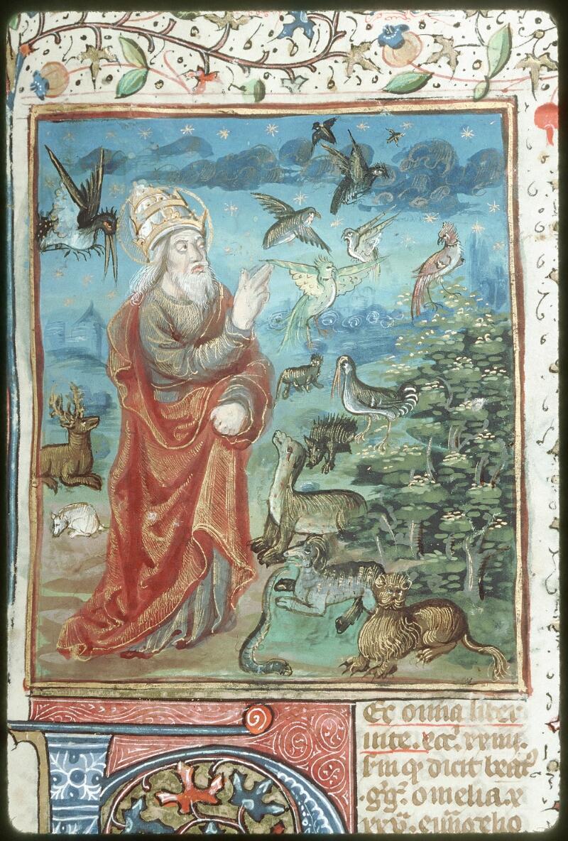 Tours, Bibl. mun., ms. 0052, f. 001 - vue 2