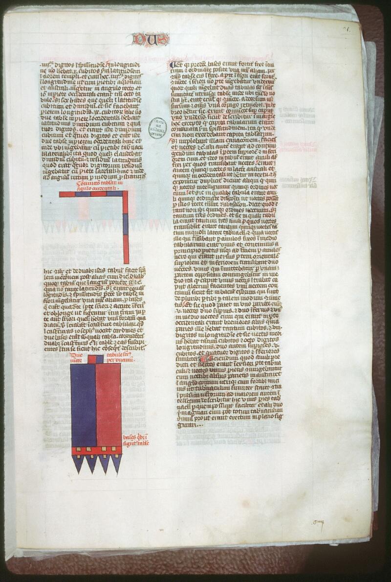 Tours, Bibl. mun., ms. 0052, f. 076 - vue 1