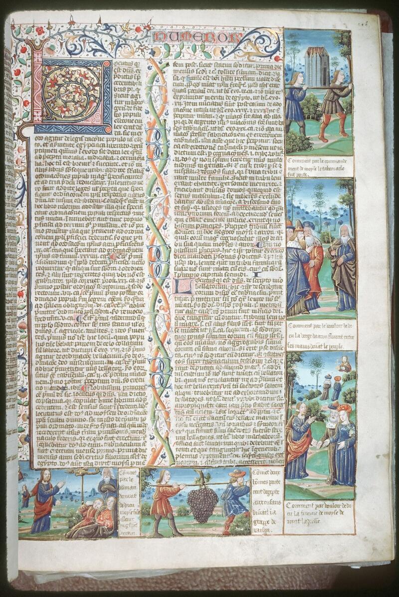Tours, Bibl. mun., ms. 0052, f. 106 - vue 1
