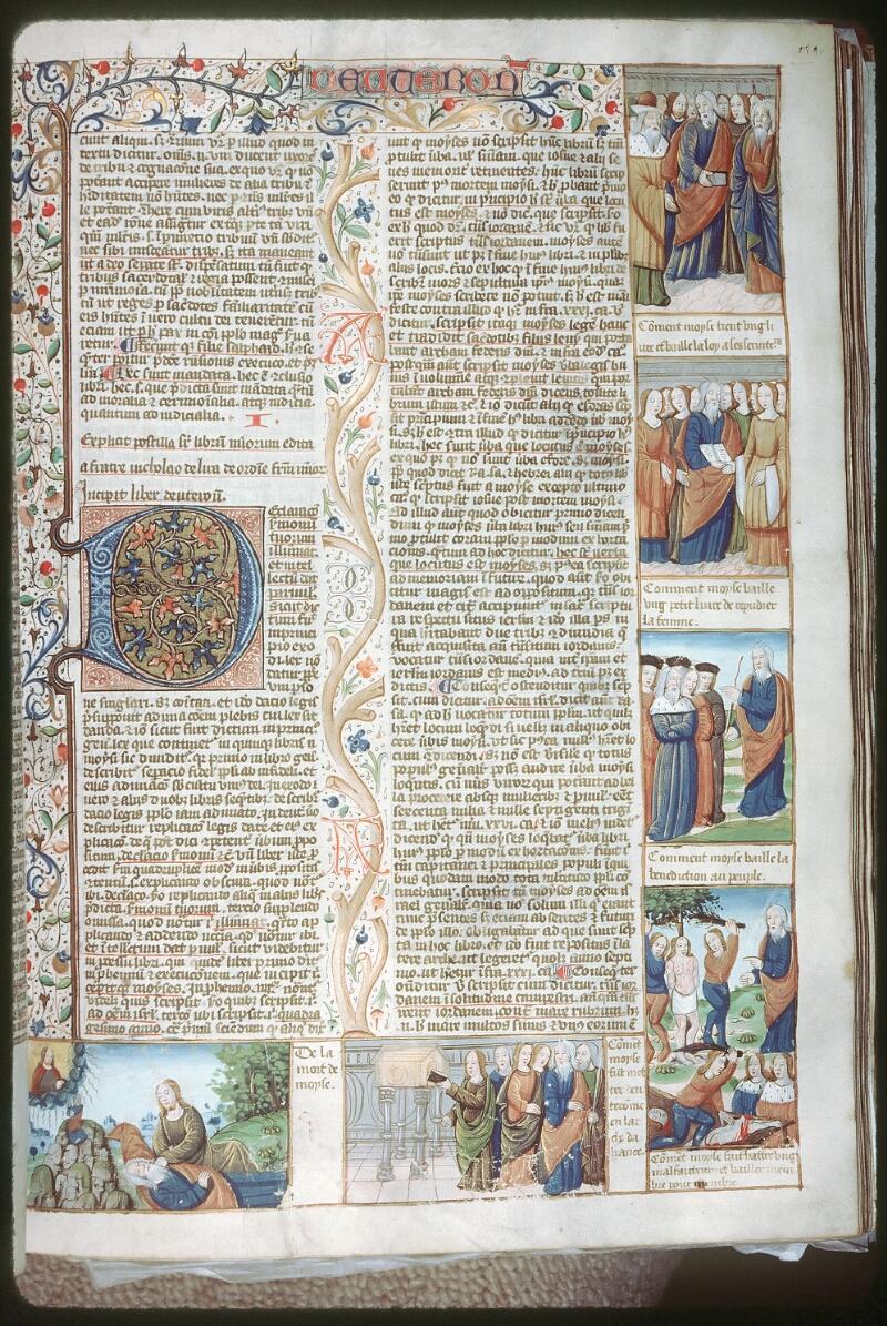 Tours, Bibl. mun., ms. 0052, f. 129 - vue 1