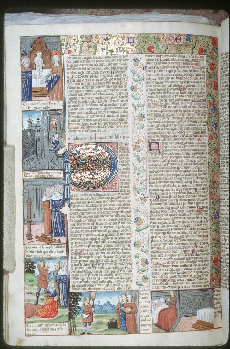 Tours, Bibl. mun., ms. 0052, f. 184v - vue 1