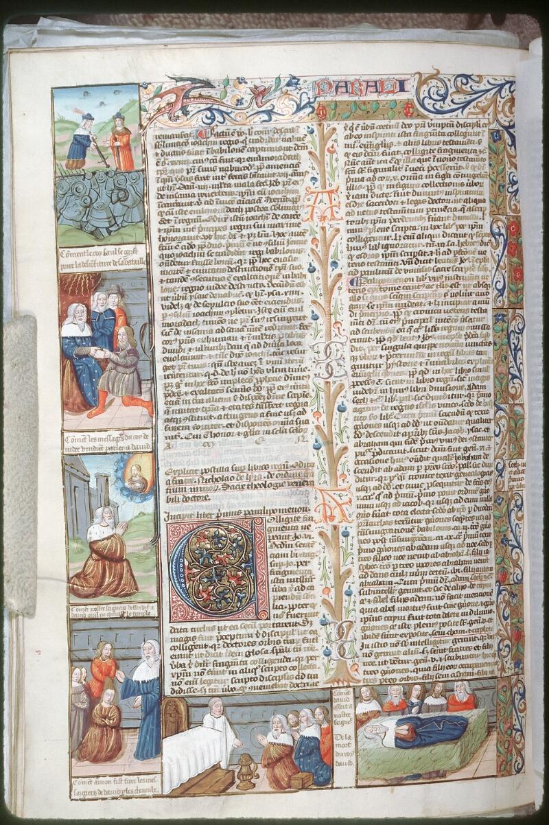 Tours, Bibl. mun., ms. 0052, f. 266v - vue 1