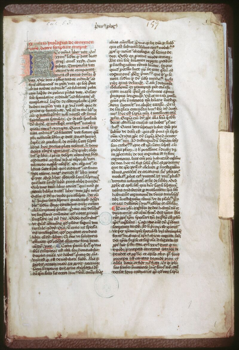 Tours, Bibl. mun., ms. 0053, f. 001