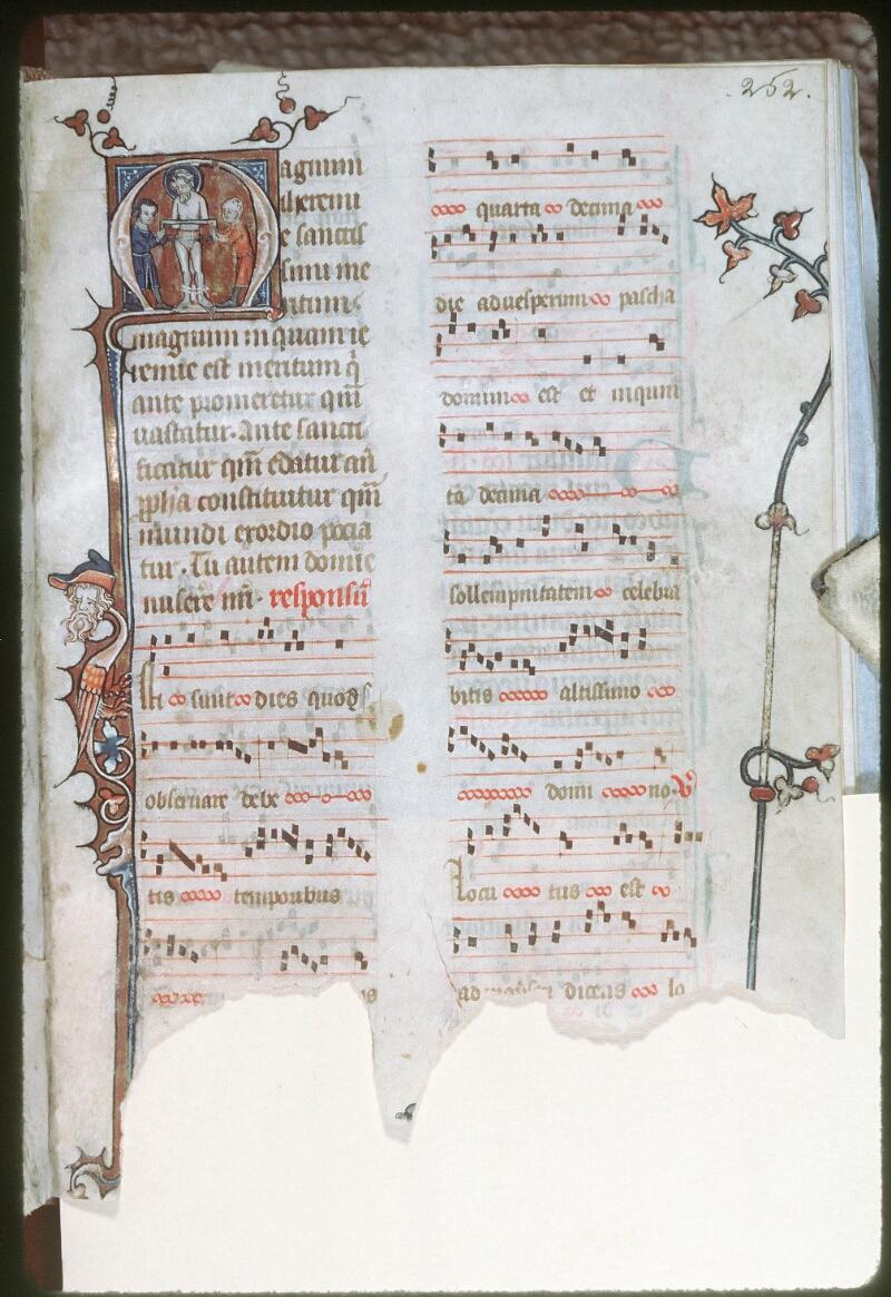 Tours, Bibl. mun., ms. 0149, f. 252 - vue 1