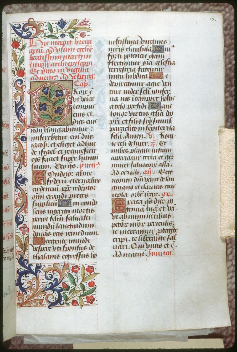 Tours, Bibl. mun., ms. 0151, f. 015