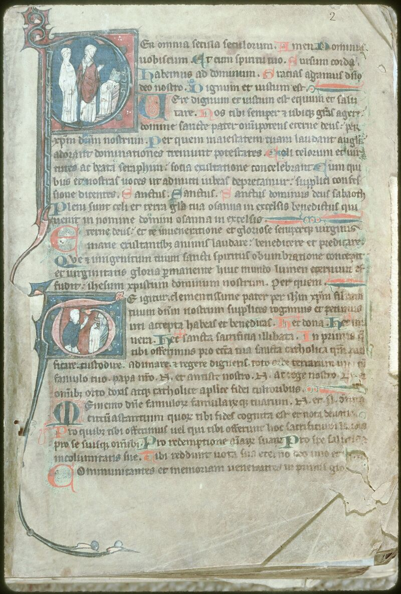Tours, Bibl. mun., ms. 0153, f. 002 - vue 1