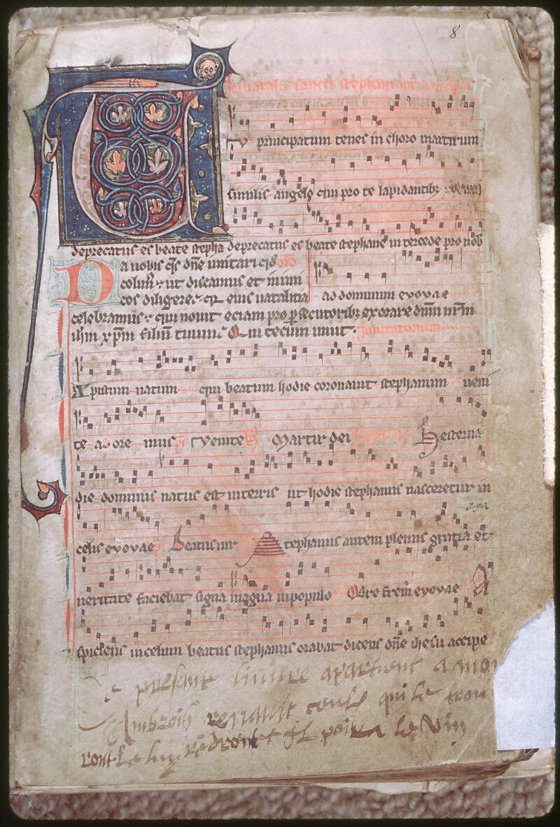 Tours, Bibl. mun., ms. 0153, f. 008