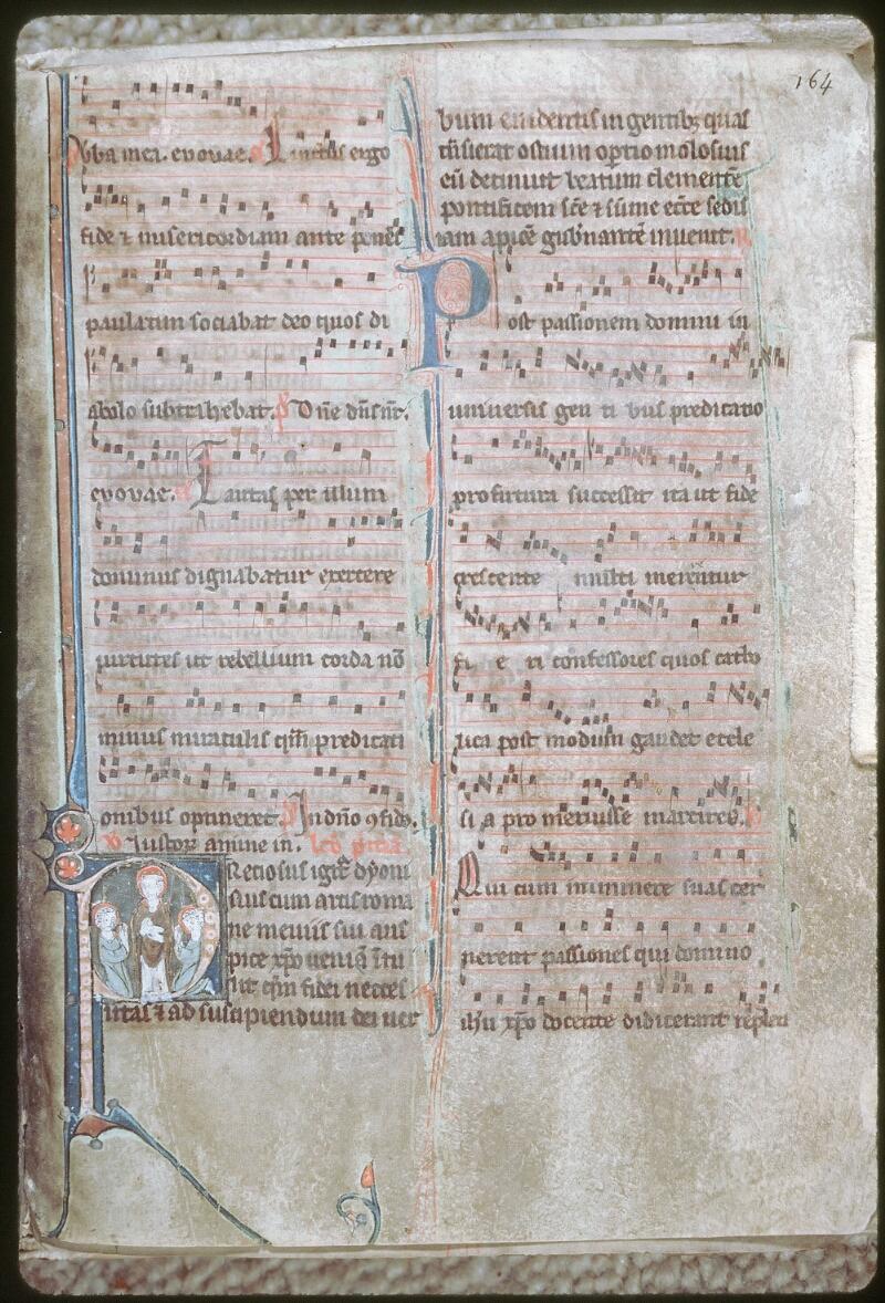 Tours, Bibl. mun., ms. 0153, f. 164 - vue 1