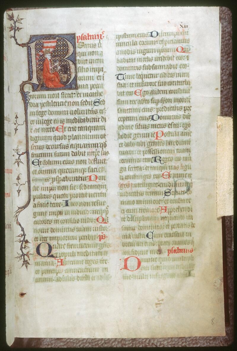 Tours, Bibl. mun., ms. 0159, f. 008 - vue 1