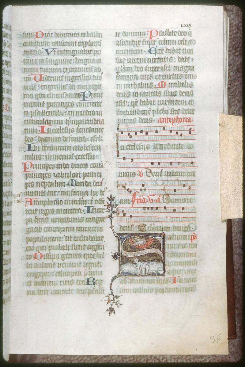 Tours, Bibl. mun., ms. 0159, f. 036 - vue 1