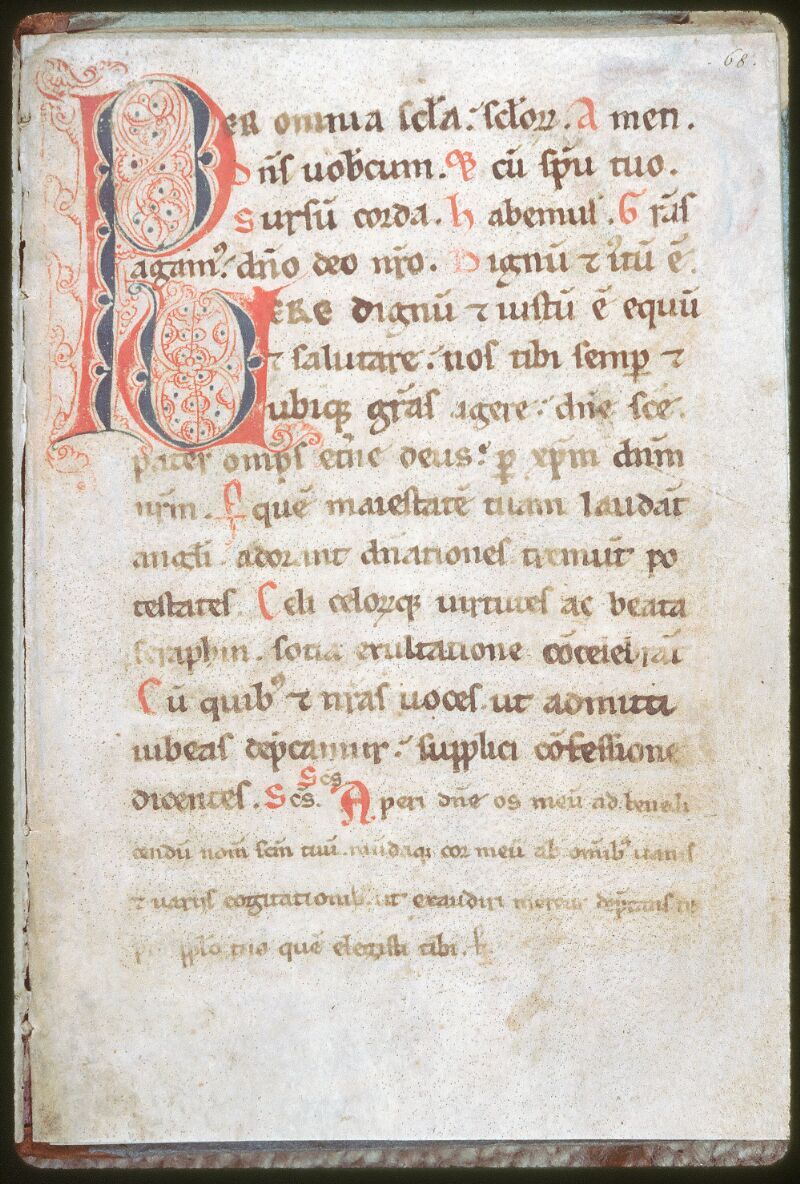 Tours, Bibl. mun., ms. 0160, f. 068