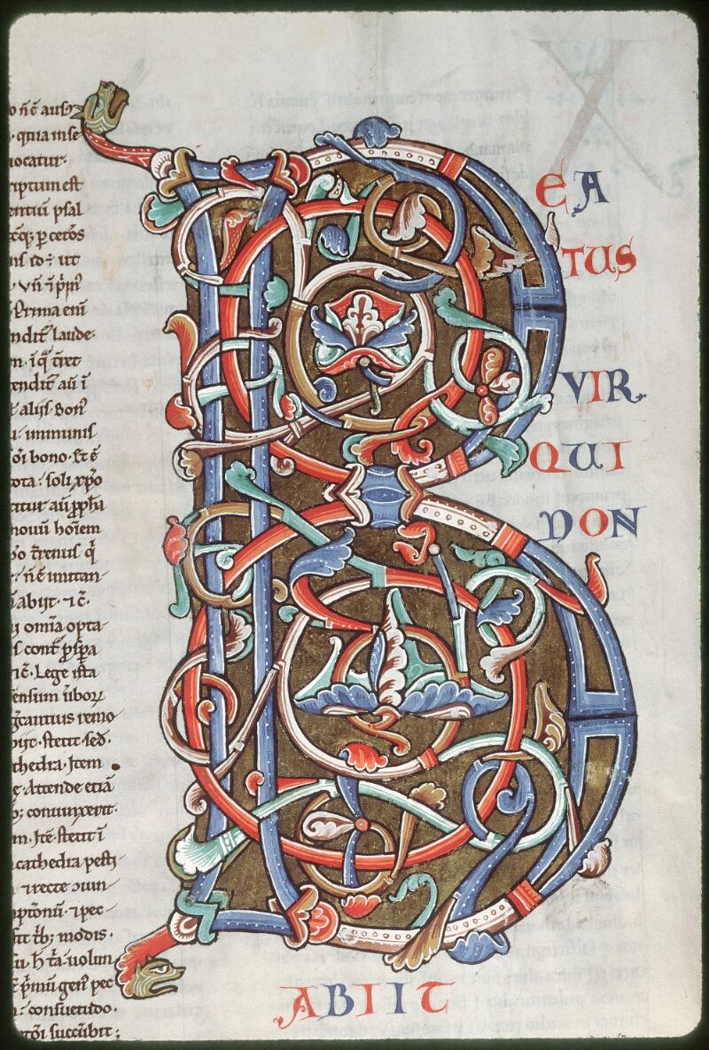 Tours, Bibl. mun., ms. 0093, f. 002v - vue 2