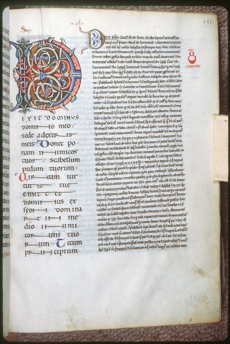 Tours, Bibl. mun., ms. 0093, f. 151