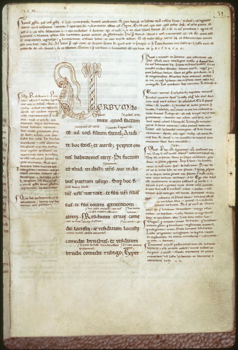 Tours, Bibl. mun., ms. 0100, f. 032 - vue 1