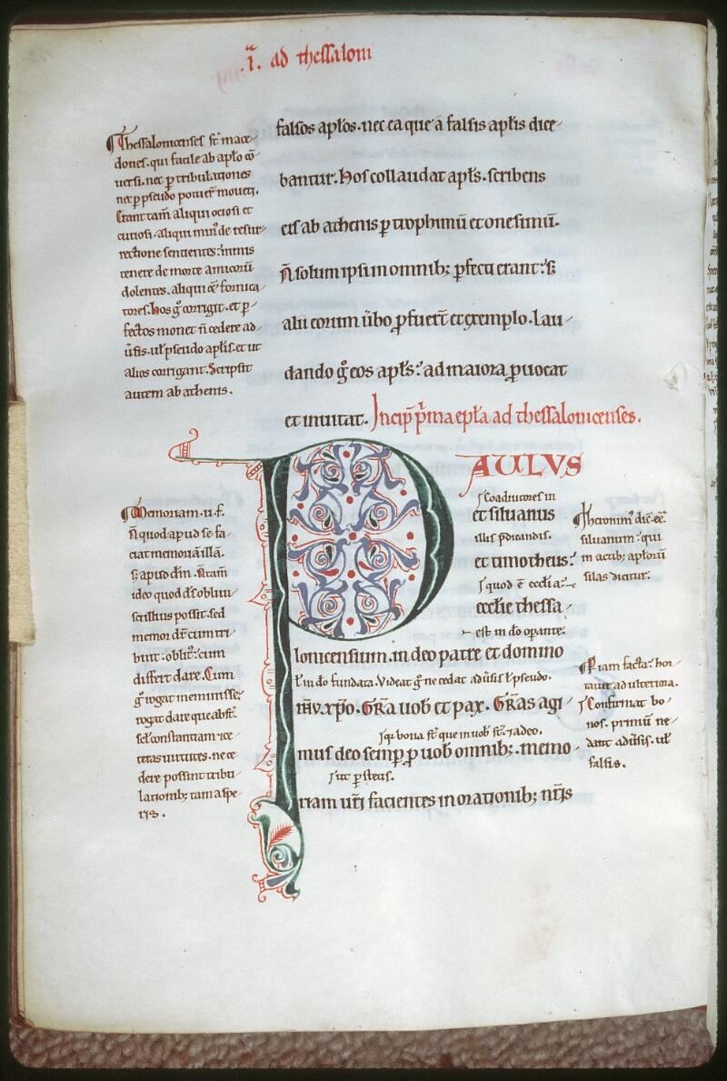 Tours, Bibl. mun., ms. 0116, f. 152v - vue 1