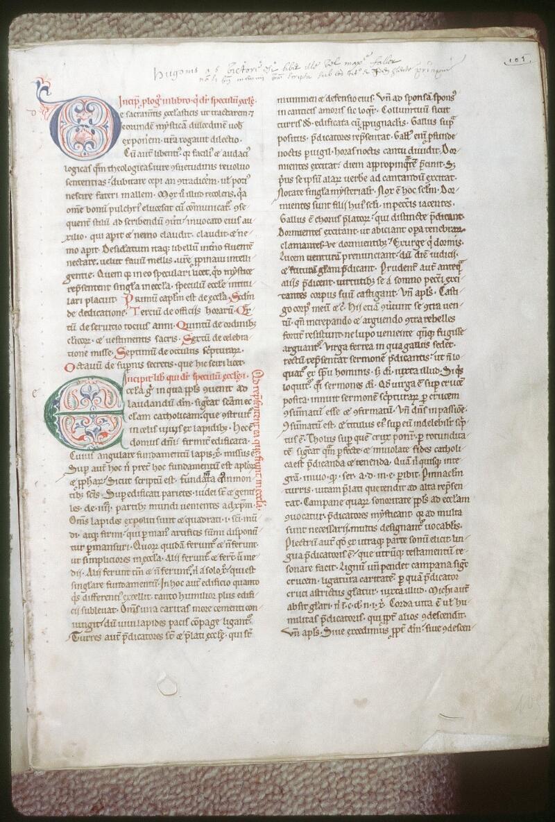 Tours, Bibl. mun., ms. 0137, f. 105