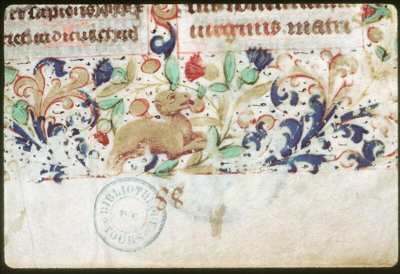 Tours, Bibl. mun., ms. 0147, f. 001 - vue 2