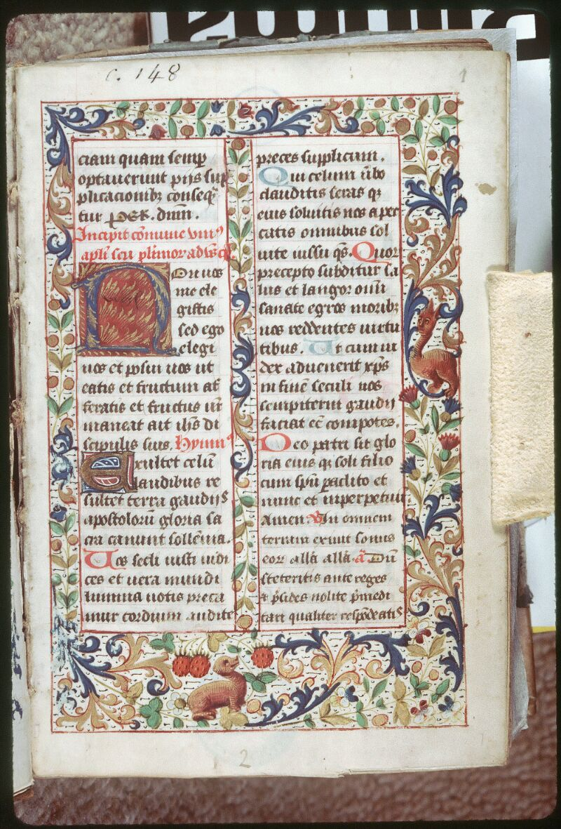 Tours, Bibl. mun., ms. 0148, f. 001