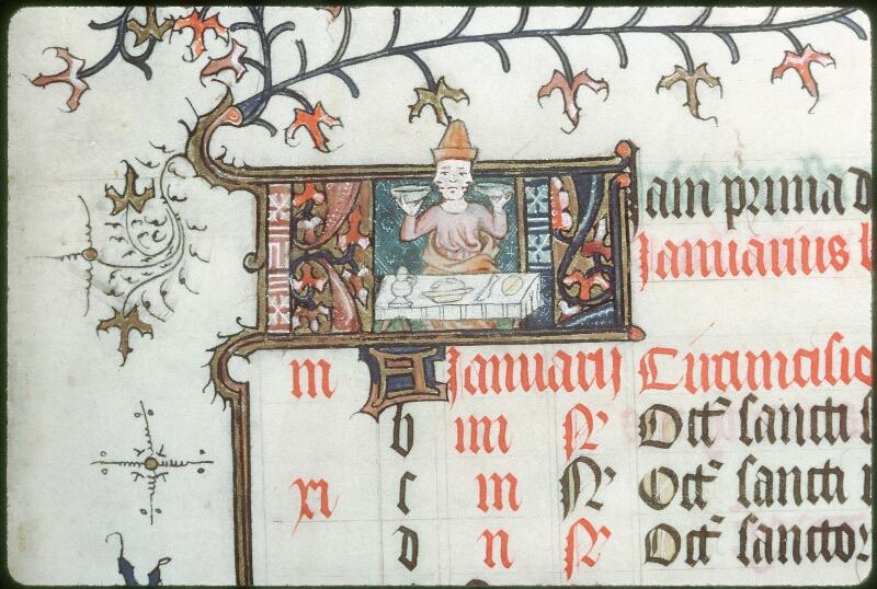 Tours, Bibl. mun., ms. 0185, f. 001 - vue 2