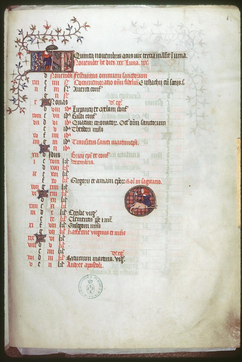Tours, Bibl. mun., ms. 0185, f. 006 - vue 1