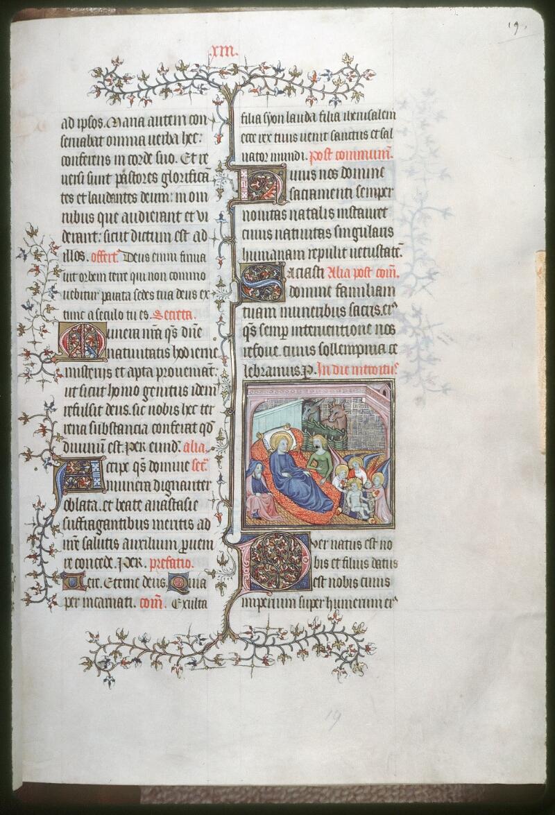 Tours, Bibl. mun., ms. 0185, f. 019 - vue 1