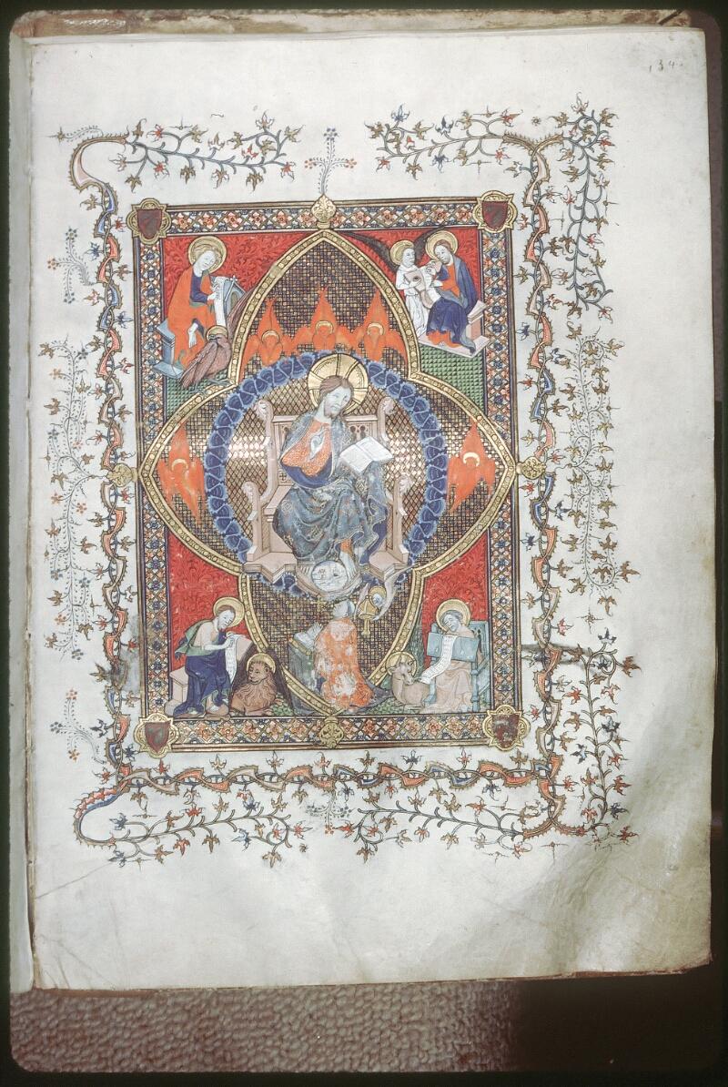 Tours, Bibl. mun., ms. 0185, f. 154 - vue 1