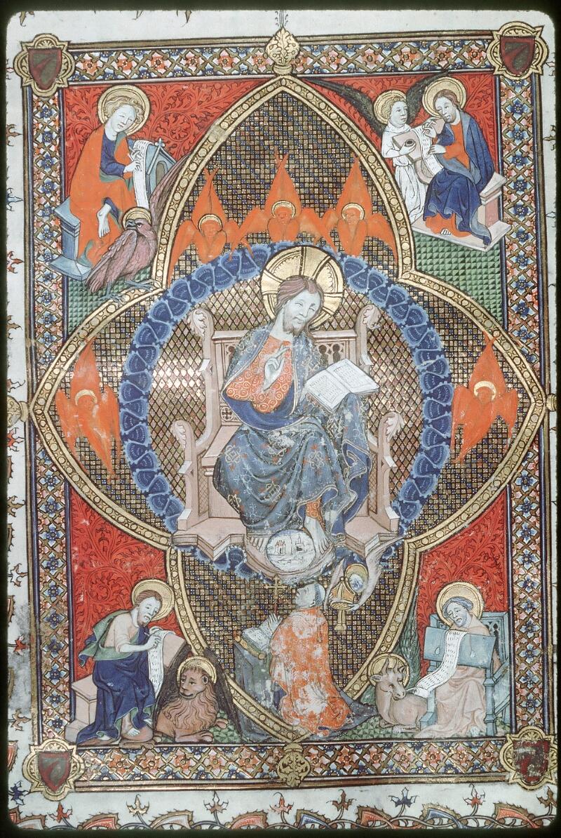 Tours, Bibl. mun., ms. 0185, f. 154 - vue 2