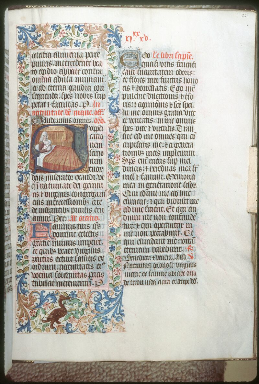 Tours, Bibl. mun., ms. 0186, f. 241 - vue 1