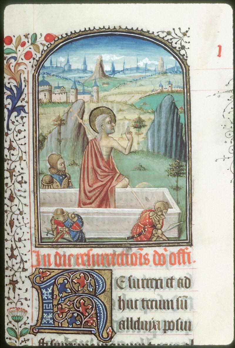 Tours, Bibl. mun., ms. 0187, f. 007 - vue 2