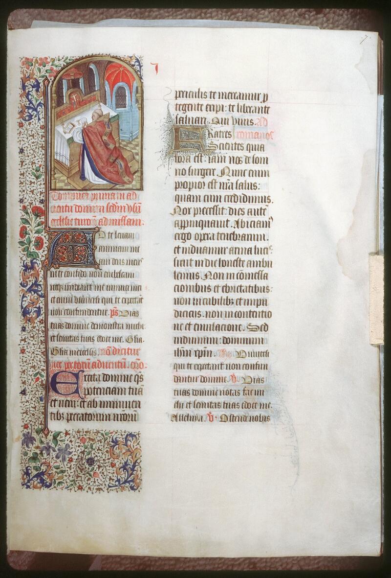 Tours, Bibl. mun., ms. 0189, f. 007 - vue 1