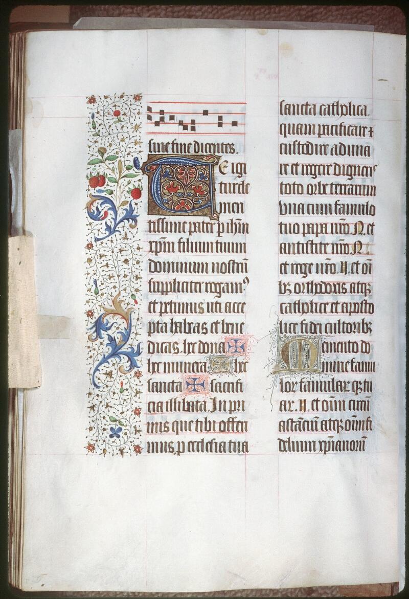 Tours, Bibl. mun., ms. 0189, f. 156v