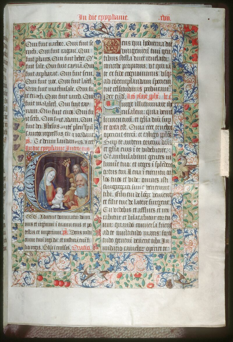 Tours, Bibl. mun., ms. 0190, f. 021 - vue 1