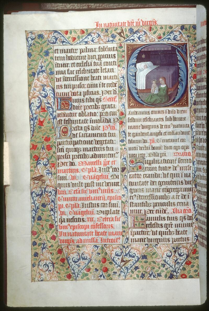 Tours, Bibl. mun., ms. 0190, f. 242v - vue 1