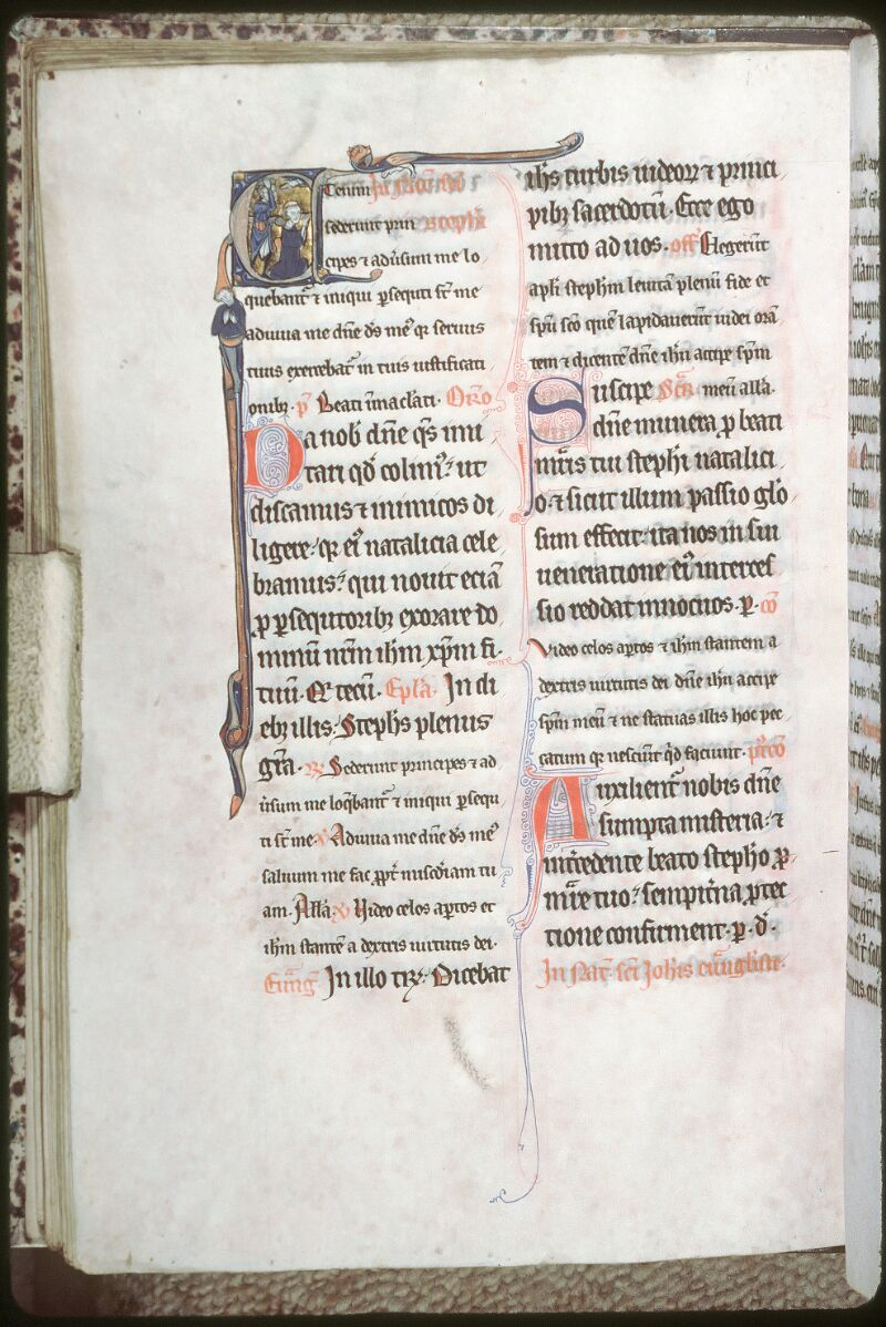 Tours, Bibl. mun., ms. 0198, f. 060v - vue 1