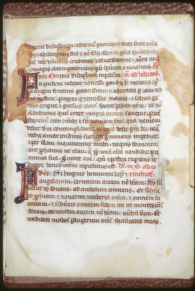Tours, Bibl. mun., ms. 0201, f. 007 - vue 1