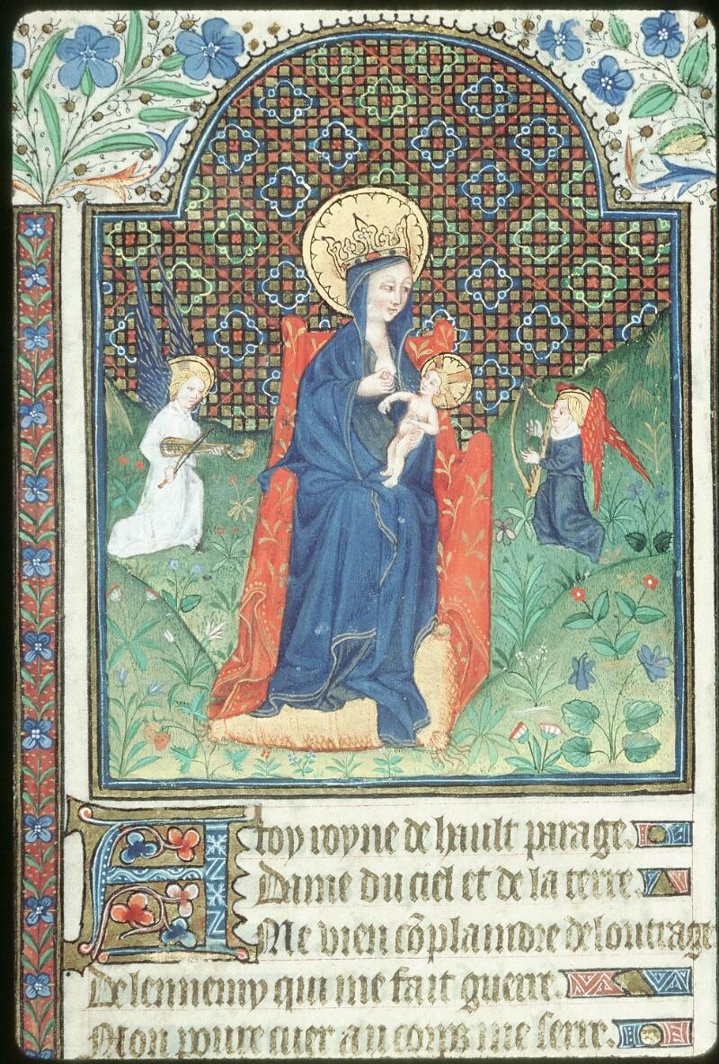 Tours, Bibl. mun., ms. 0217, f. 001 - vue 2