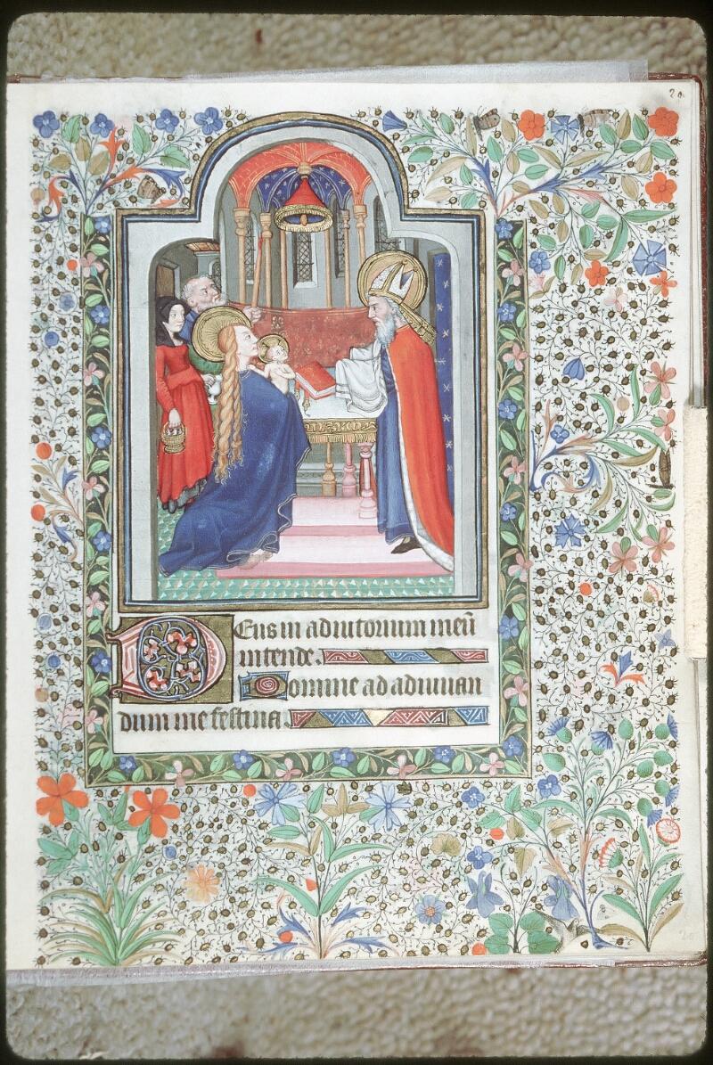 Tours, Bibl. mun., ms. 0217, f. 020 - vue 1