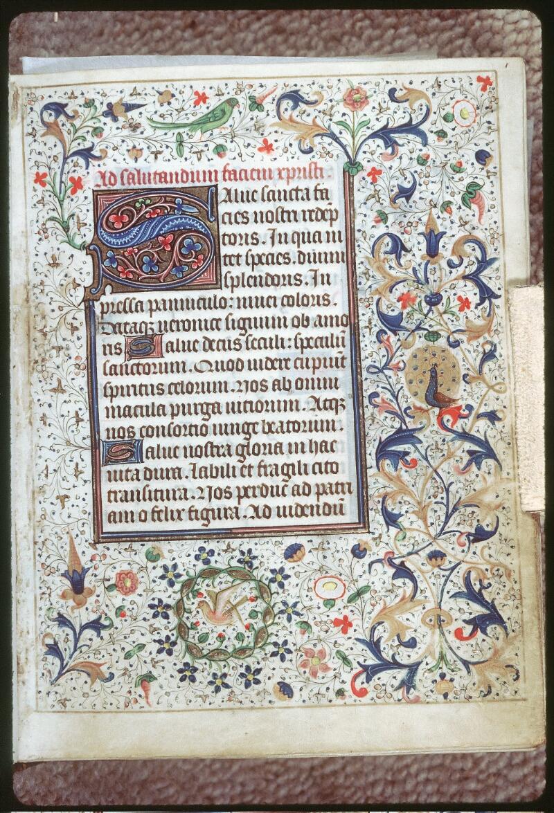 Tours, Bibl. mun., ms. 0218, f. 001