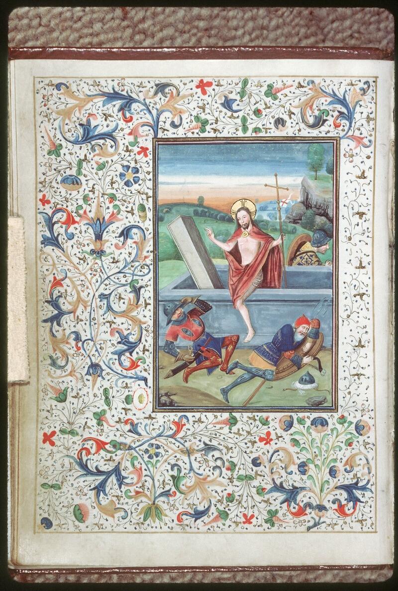 Tours, Bibl. mun., ms. 0218, f. 003v - vue 1