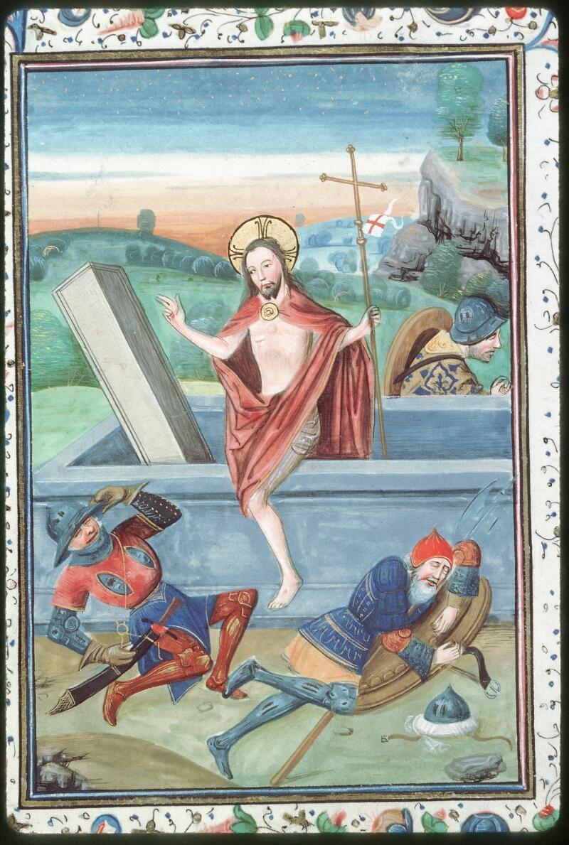 Tours, Bibl. mun., ms. 0218, f. 003v - vue 2