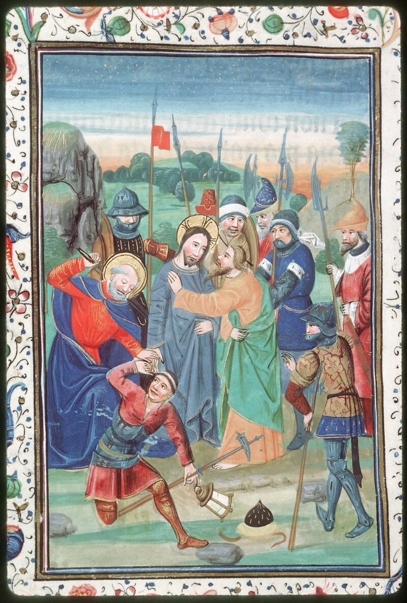 Tours, Bibl. mun., ms. 0218, f. 041v - vue 2
