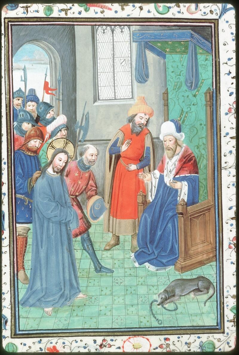 Tours, Bibl. mun., ms. 0218, f. 052v - vue 2