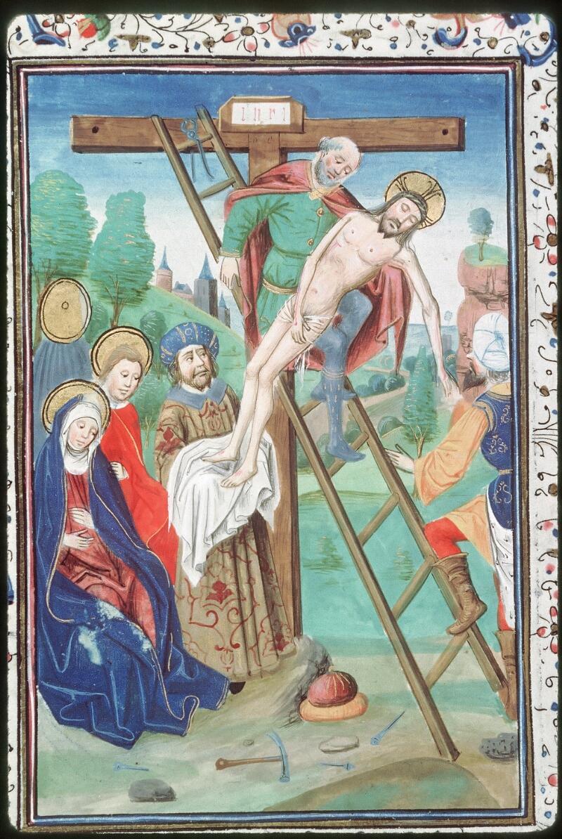 Tours, Bibl. mun., ms. 0218, f. 072v - vue 2