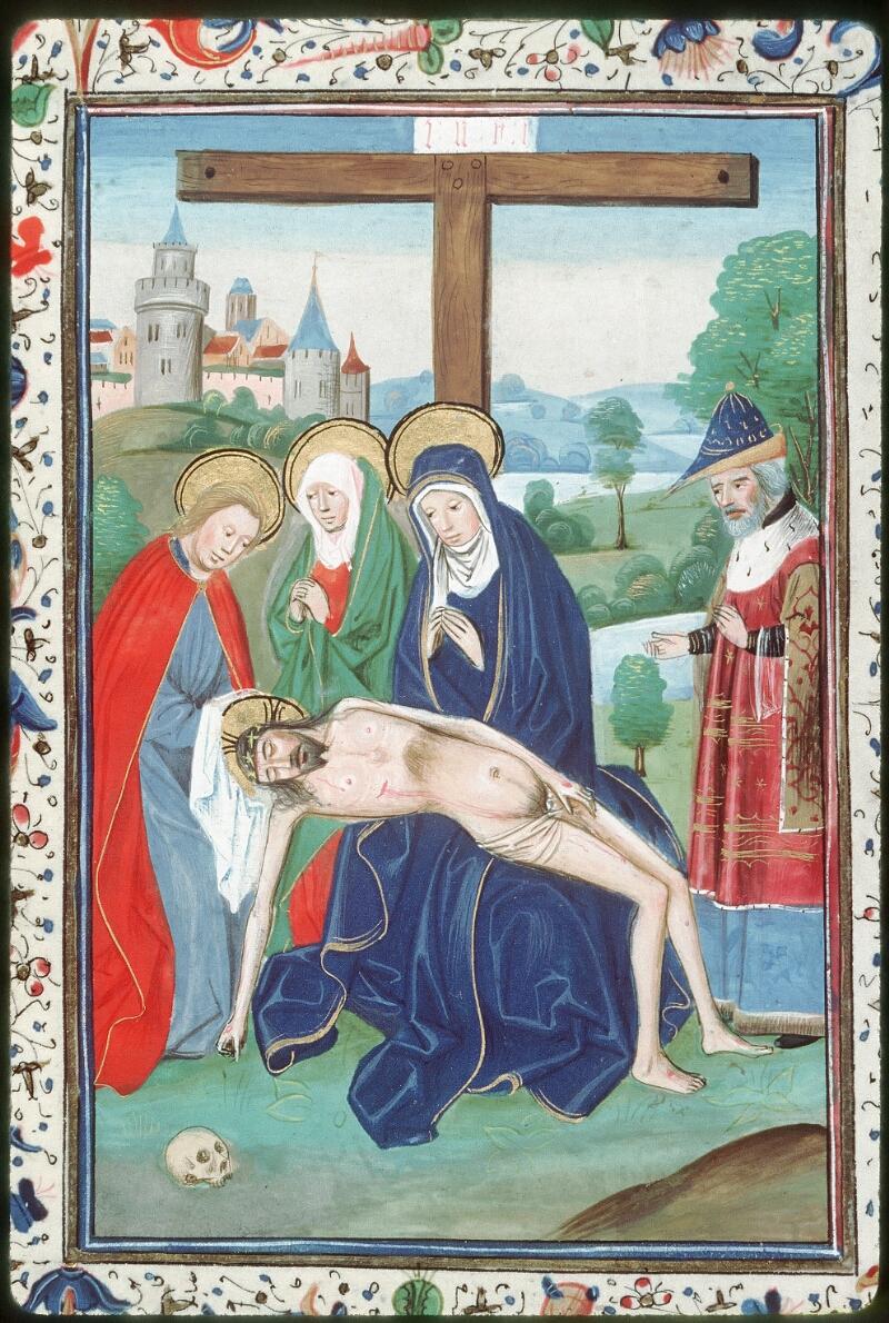Tours, Bibl. mun., ms. 0218, f. 186v - vue 2
