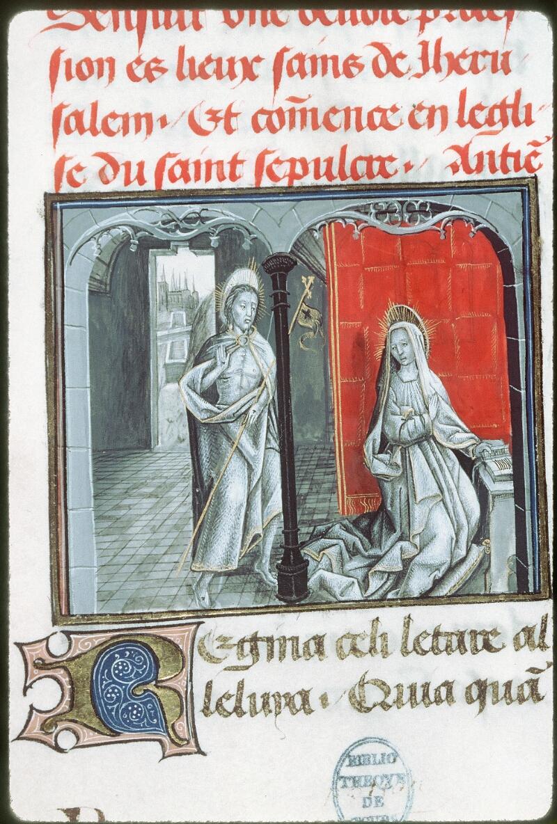Tours, Bibl. mun., ms. 0219, f. 087 - vue 2