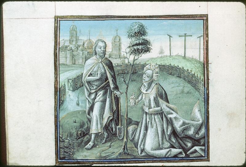 Tours, Bibl. mun., ms. 0219, f. 090v - vue 1