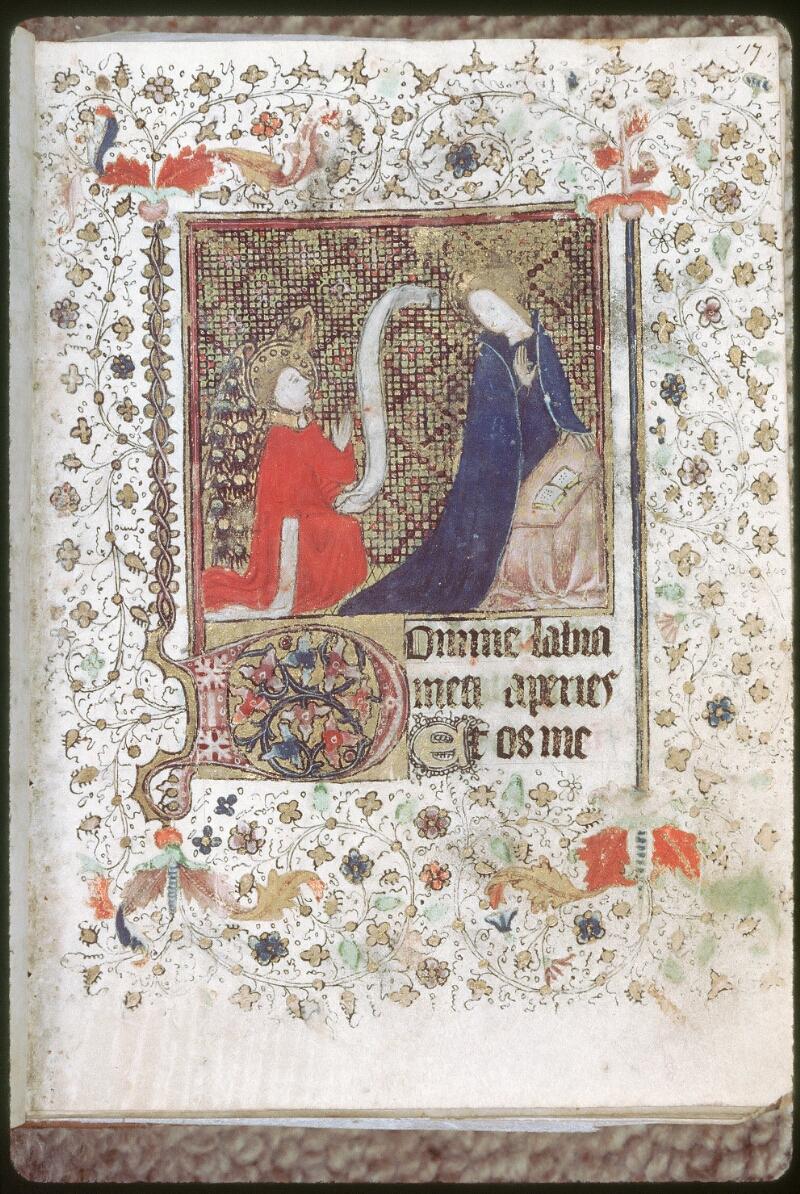 Tours, Bibl. mun., ms. 0226, f. 017 - vue 1