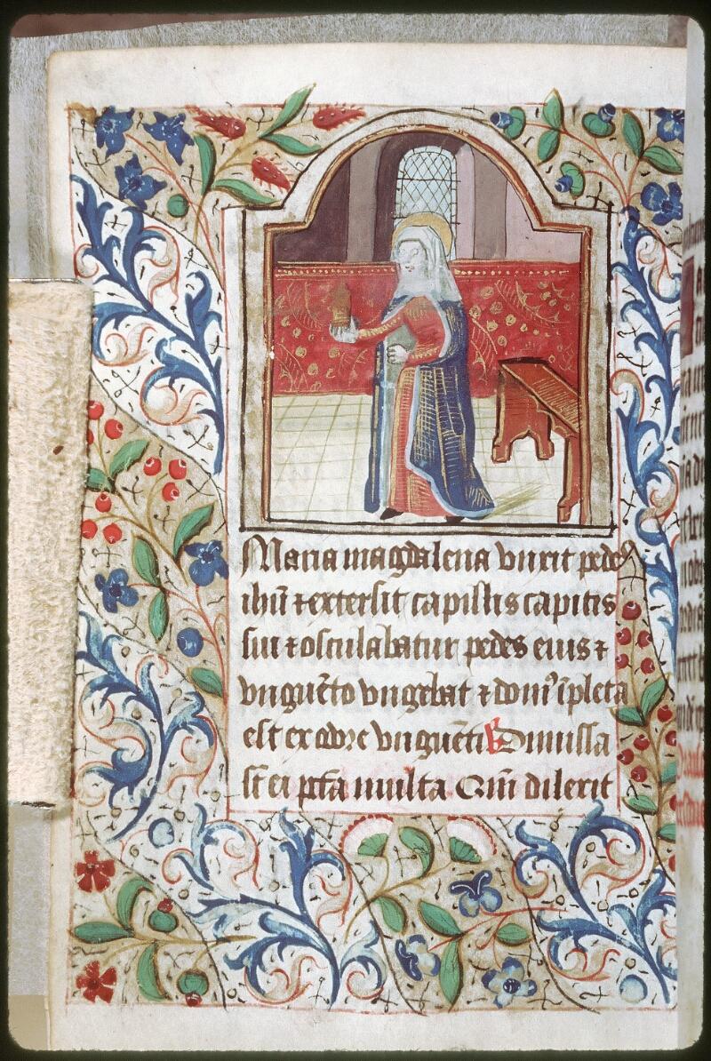 Tours, Bibl. mun., ms. 0227, f. 161v - vue 1